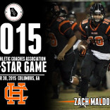 Zach Maldonado Selected to Play in the 2015 GACA All-Star Game