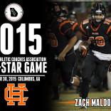 Zach Maldonado Selected to Play in the 2015 GACA All-Star Game