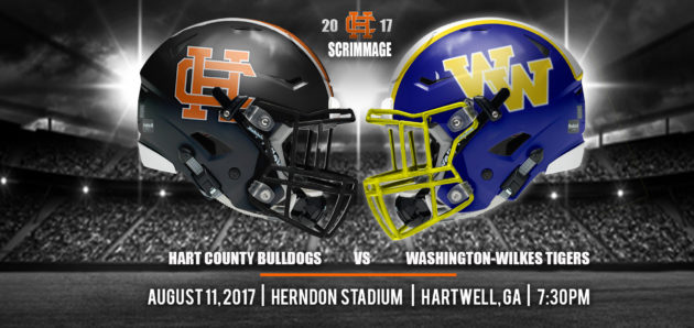 Bulldogs Scrimmage Washington-Wilkes Tonight at Herndon Stadium!